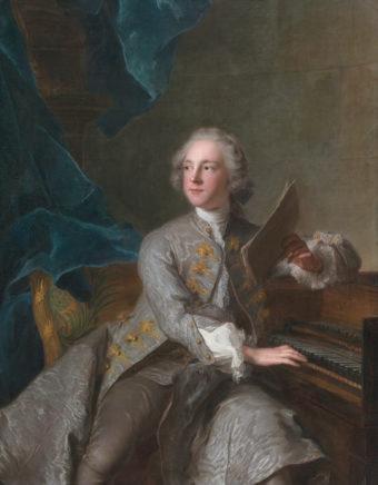 Francis Greville, Baron Brooke, later 1st Earl of Warwick (1719-1773), by Jean-Marc Nattier